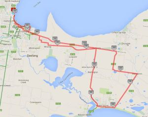 151108 Ocean Grove via Swan Bay Road Joint Ride