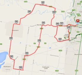 Barrabool Hills Classic - Tortoise Shortcut - 64km