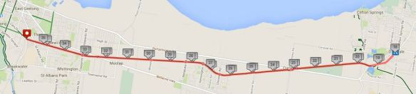 BRT to drysdale - 30th November, 2014