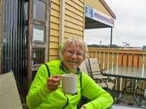 Helen - coffee's the reason we ride!