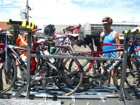 Bike trailer trial