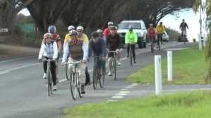 A motley pedalton on the way to Point Lonsdale