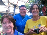 Sandra, Mike and Rosemary