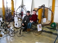 Collector Stuart Clissold and his grandson