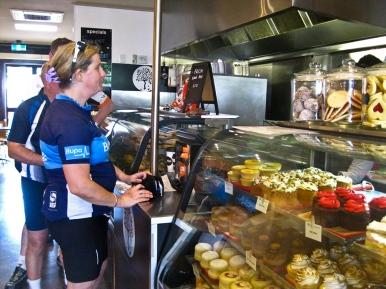 Karen at Cafe Xpresso