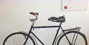 Old policeman's bike at Dunolly Police Station