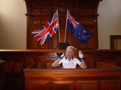 Russell as prosecutor