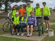 Jim Day Memorial seat, Bellarine Rail Trail, Dtysdale