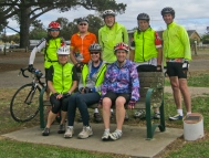 Jim Day Memorial seat, Bellarine Rail Trail, Dtysdale