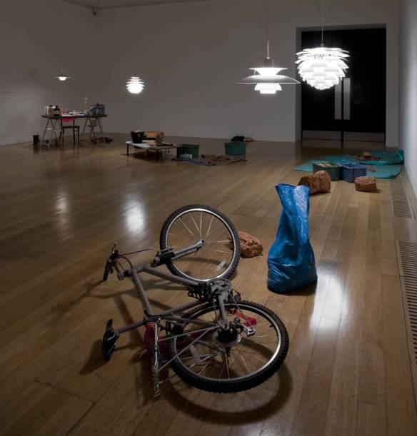 Work Made-ready, Les Baux de Provence (Mountain Bike) 2001 by Simon Starling born 1967