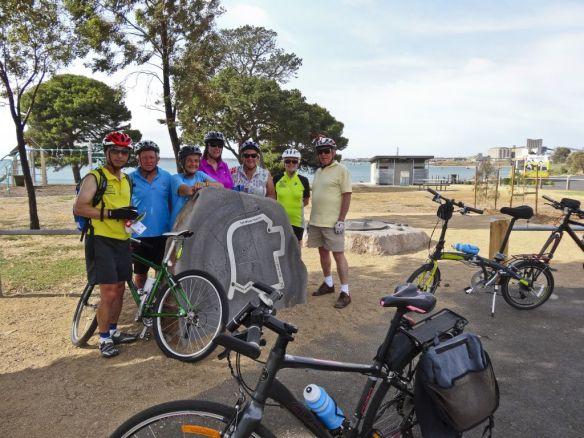 Sunday Bike Ride led by John 20th Dec. DSC06699acr edit