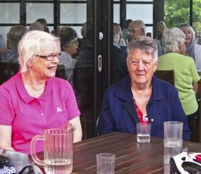 Life Members Nancy and Heather