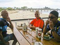 Russ, Carla, John