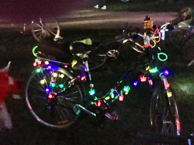 160131 Ride the Night decorated bike