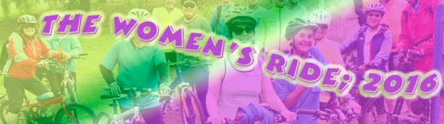 the womens ride banner