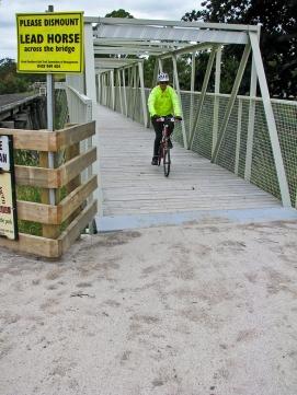 Pumphouse Bridge crossing of the Tarwin River near Meeniyan