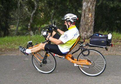 Doug on the Cruze Bike