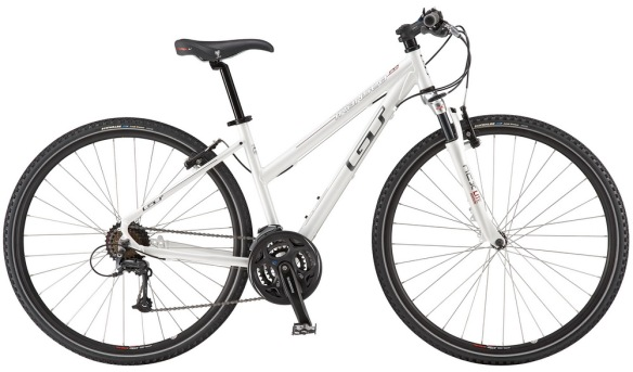 2010 GT Transeo women's womens Transeo 2.0 V-brake Ladies White International