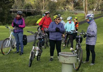 Carolyn and her e-bike
