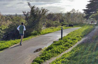 Runner near Barrabool Road