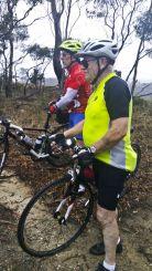 Doug's recitation and ride leader Allan