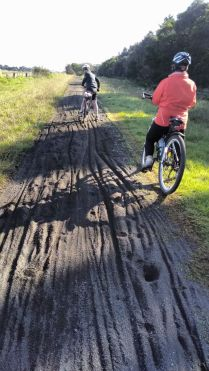 Loose surface - impassable for most bikes