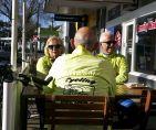Barbara, Russell & Dirk at Cafe Blu