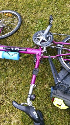 The photographer's bike