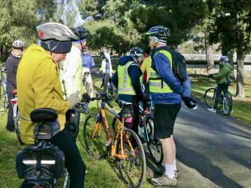 Regrouping at Barwon Bridge