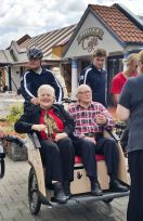 The very first passengers from Multi-cultural Aged Care