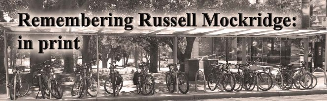 Remembering Russell Mockridge: Saturday 15th September, 2018 – 2