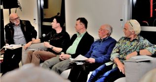 The panel of authors (Photo: Ray Bowles)