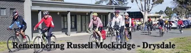 Remembering Russell Mockridge: Sunday16th September,2018