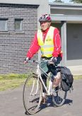 Rod Charles, joint ride leader & cycling historian