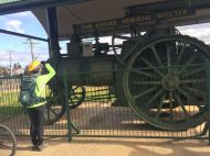 The Marshall Traction Engine
