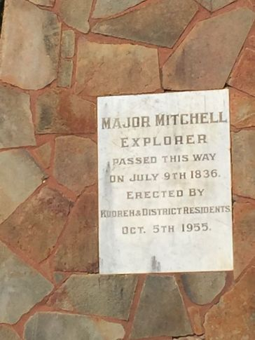 Is there anywhere in Western Victoria that Major Mitchell didn't visit?