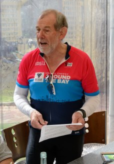 Doug reads his latest stanzas in On Ya Bike!