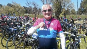 Geoff with ATB medal