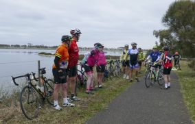 On Ya Bike! at Limeburners Lagoon