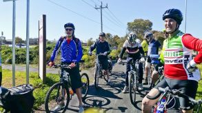Christies Road on return ride