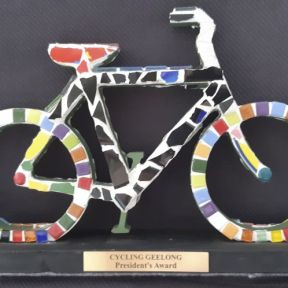 The President's Trophy - for outstanding service to Cycling Geelong