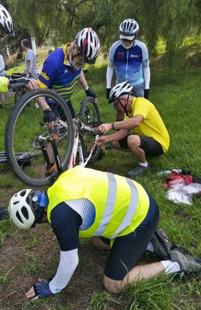 Puncture repairs