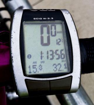 Speed to Lara was gentle - 15.3kph