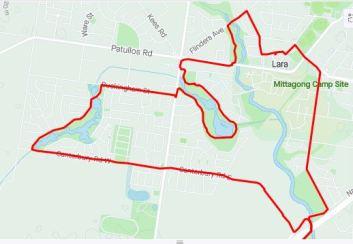 Lara route detail